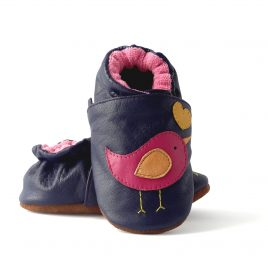 Sotf sole leather shoes toddler girl