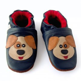 Baby first walking shoes.