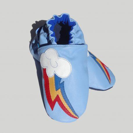 Patos Zapatos - rainbow